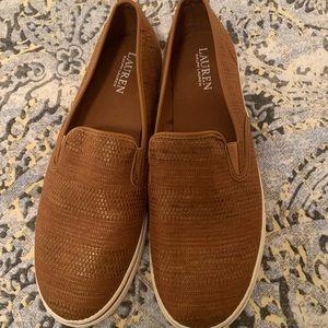 Ralph Lauren Janis sneaker size 11. Worn once